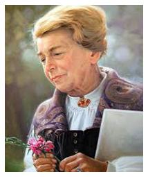 Portrait of Maria Treben