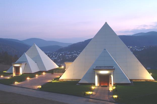 Rayonex headquarters, Sauerland Pyramids