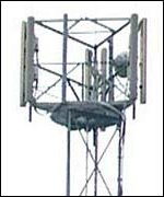 Typical Mobile Phone Transmitter Tower
