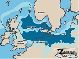 Zechstein Seabed map
